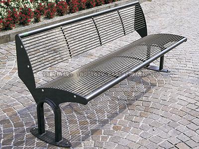 专业钢结构球场休息长椅-雅悠·中国垃圾桶制造专家