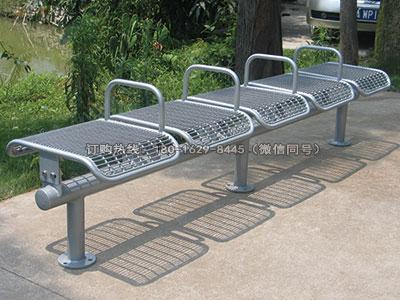 乐享钢结构游乐园休息座椅-雅悠·中国垃圾桶制造