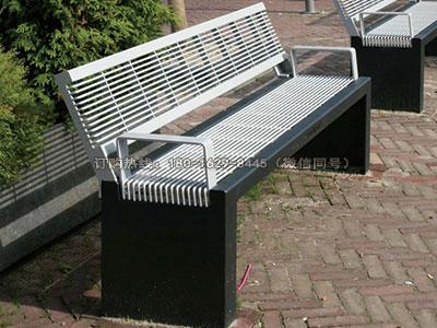 乐游钢结构城市休闲座椅-雅悠·中国垃圾桶制造专家